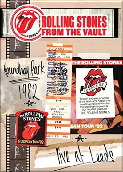 The Rolling Stones : From the Vaults Live in Leeds Roundhay Park 1982 - DVD