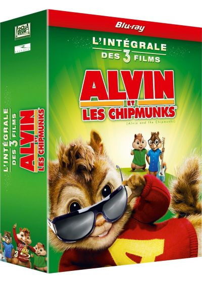Alvin Et Les Chipmunks 1 + 2 + 3