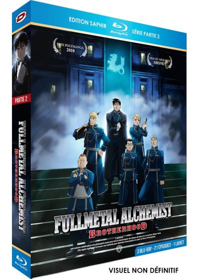 Fullmetal Alchemist : Brotherhood - Part 2 (Édition Saphir) - Blu-ray