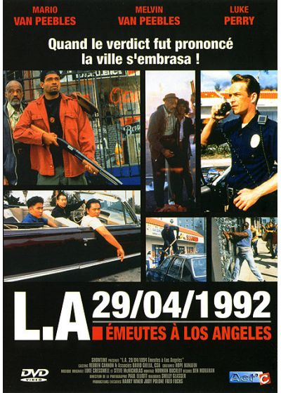 L.A. 29/04/1992 - Emeutes à Los Angeles - DVD