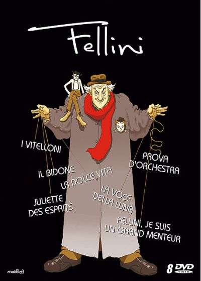 Fellini - Coffret - DVD