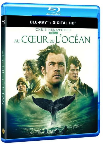 Au coeur de l'ocean (Blu-ray + Copie digitale) - Blu-ray
