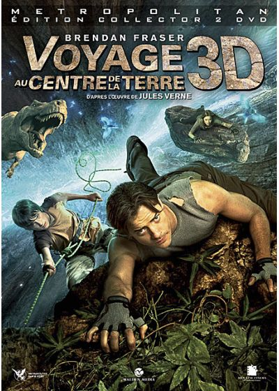 Voyage au centre de la Terre (Édition Collector - Version 3-D) - DVD