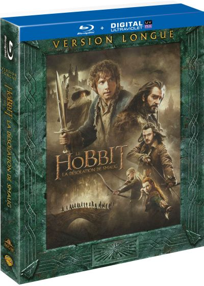 Le Hobbit : La désolation de Smaug (Version longue - Blu-ray + Copie digitale) - Blu-ray