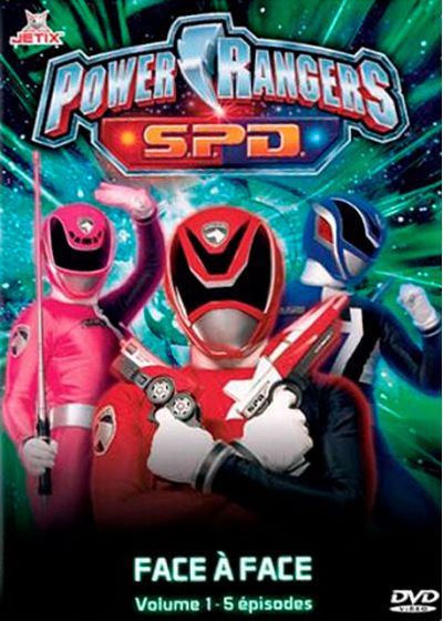 Power Rangers S.P.D. - Vol. 1 - DVD