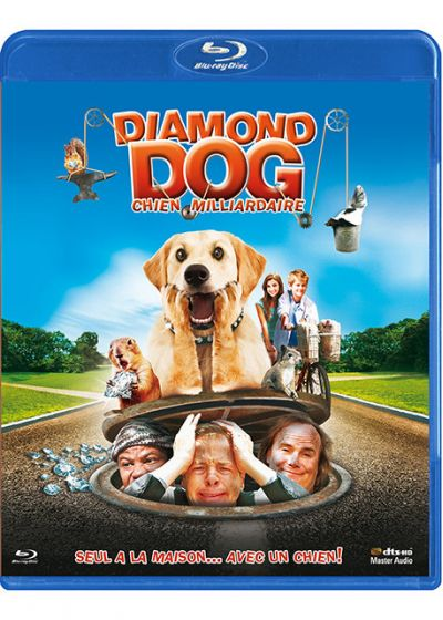 Diamond Dog : chien milliardaire - Blu-ray