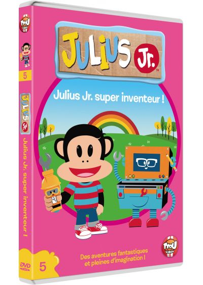 Julius Jr. - Volume 5 - Julius Jr. super inventeur ! - DVD