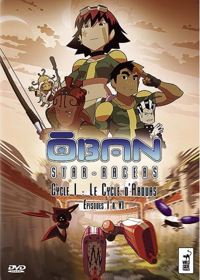 Oban Star-Racers - Cycle I : Le Cycle d'Arouas - Épisodes I à VI - DVD