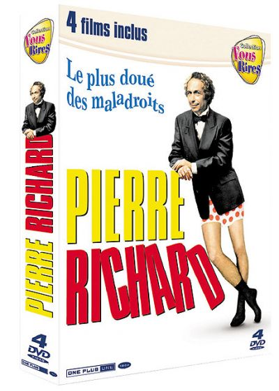 Pierre Richard : Le plus doué des maladroits - Coffret 4 films - DVD