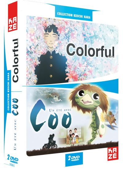 Collection Keiichi Hara : Colorful + Un été avec Coo (Pack) - DVD