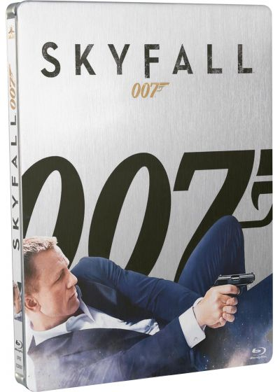 Skyfall (Édition Collector Limitée boîtier SteelBook - Combo Blu-ray + DVD + Cartes) - Blu-ray