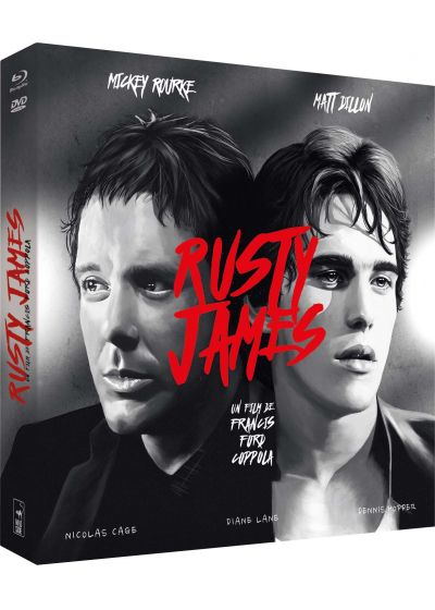 Rusty James (Édition Collector Blu-ray + DVD + Livre) - Blu-ray