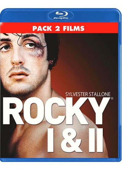Rocky + Rocky II (Pack 2 films) - Blu-ray