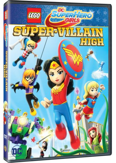 DC Super Hero Girls : Le Collège des Super-Méchants - DVD