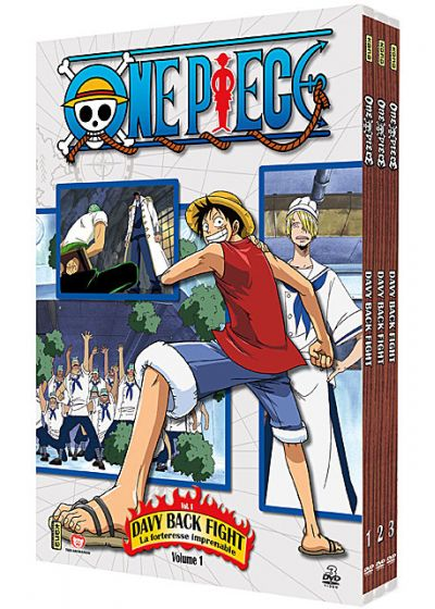One Piece - Davy Back Fight - Coffret 1 - DVD