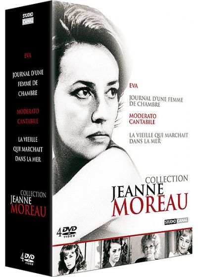 Collection Jeanne Moreau (Pack) - DVD