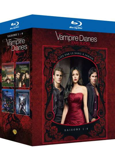 Vampire Diaries - Saisons 1 à 4 - Blu-ray