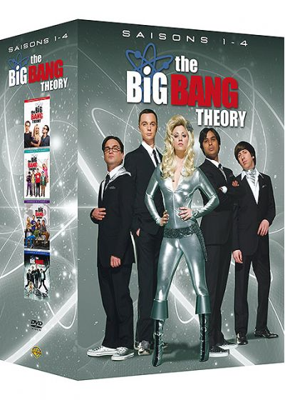 The Big Bang Theory - Saisons 1-4 - DVD