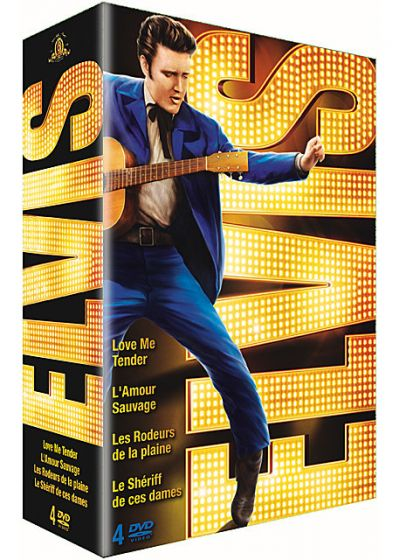 Elvis the King - Coffret 4 DVD (Pack) - DVD