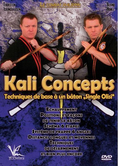 "Kali Concepts : techniques de base à un bâton ""Single Olisi"" - DVD"