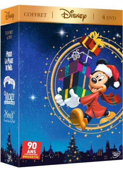 coffret disney noel 2018 DVDFr   Coffret Disney 4 DVD : Mickey et la magie de Noël + Le  coffret disney noel 2018