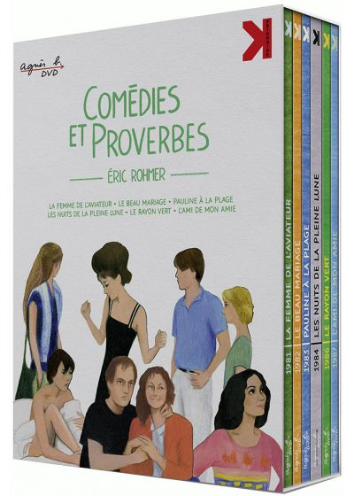 Eric Rohmer - Comédies et proverbes (Combo Blu-ray + DVD) - Blu-ray