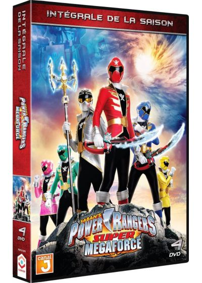 Power Rangers Super Megaforce - Intégrale de la saison - DVD