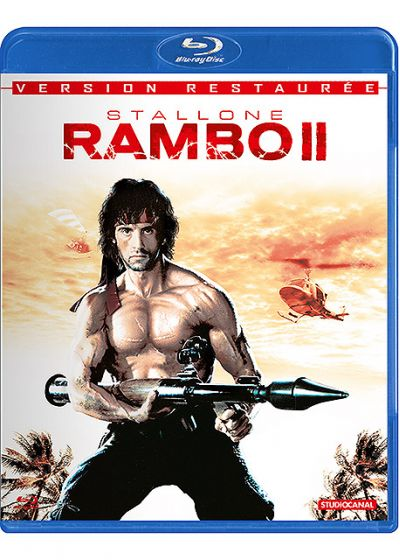 Rambo II (la mission) - Blu-ray