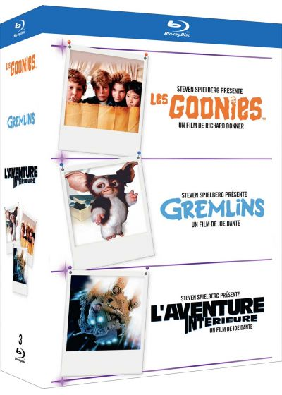 Les Goonies + Gremlins + L'Aventure intérieure (Pack) - Blu-ray