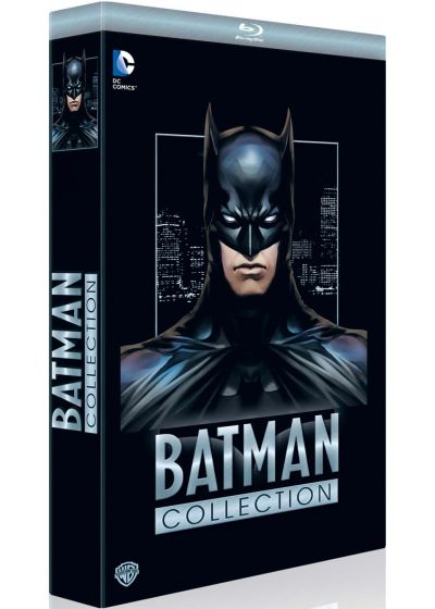 Batman Collection : The Dark Knight parties 1 & 2 + Year One + The Killing Joke + Le fils de Batman + Batman vs. Robin + Mauvais sang (Pack) - Blu-ray