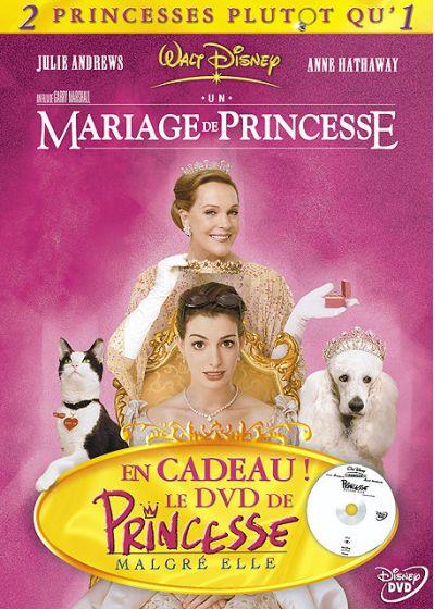 Princesse malgré elle + Un mariage de princesse (Pack) - DVD