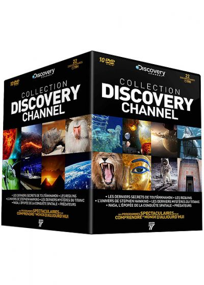 Collection Discovery Channel : L'Univers vu par Stephen Hawking + Toutankhamon + Titanic + Prédateurs + Les Requins + NASA - DVD