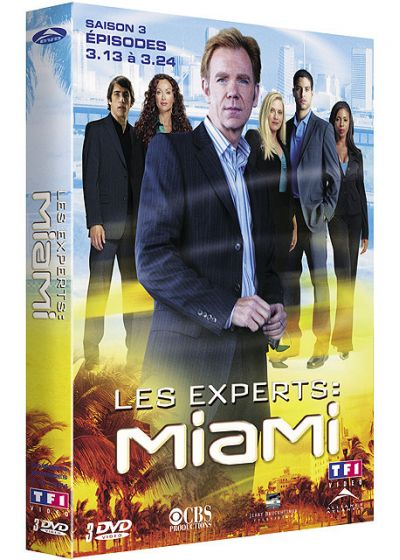 Les Experts : Miami - Saison 3 Vol. 2 - DVD