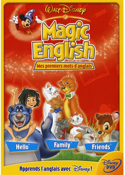 Magic English - Mes premiers mots d'anglais - DVD