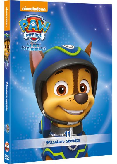 dvdfr paw patrol la pat 39 patrouille 11 mission secr te dvd. Black Bedroom Furniture Sets. Home Design Ideas