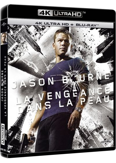 La Vengeance dans la peau (4K Ultra HD + Blu-ray + Copie Digitale UltraViolet) - Blu-ray 4K