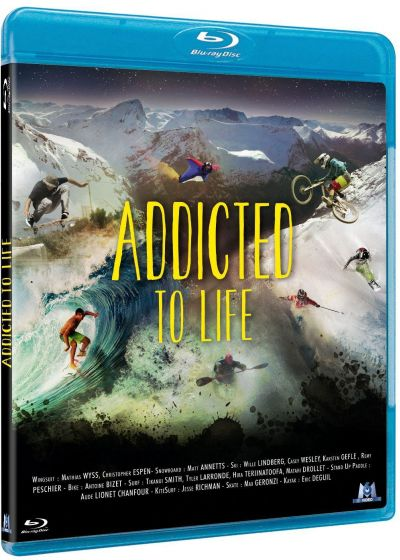 Nuit de la glisse : Addicted to Life - Blu-ray
