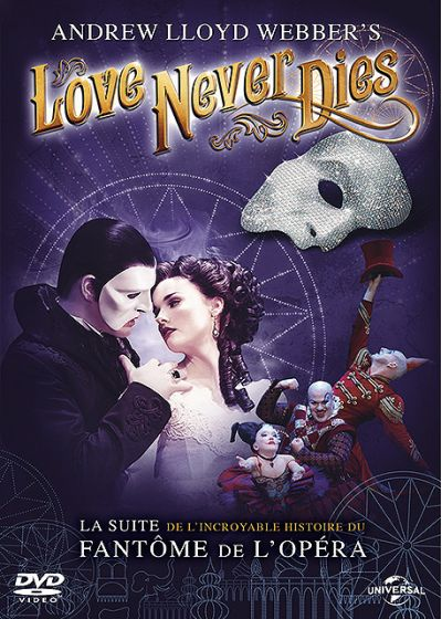 Love Never Dies - DVD