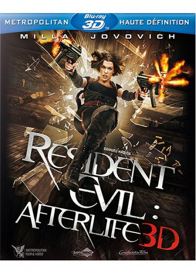 Resident Evil : Afterlife 3D (Blu-ray 3D - Édition boîtier SteelBook) - Blu-ray 3D