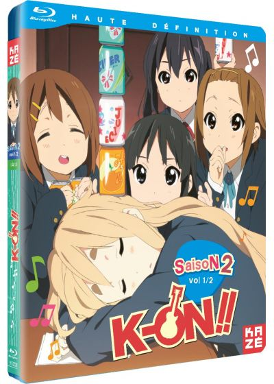 K-ON ! - Saison 2, Box 1/2 - Blu-ray