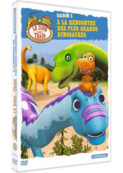 Le Dino Train - Saison 2 - 5 - À la rencontre des plus grands dinosaures - DVD