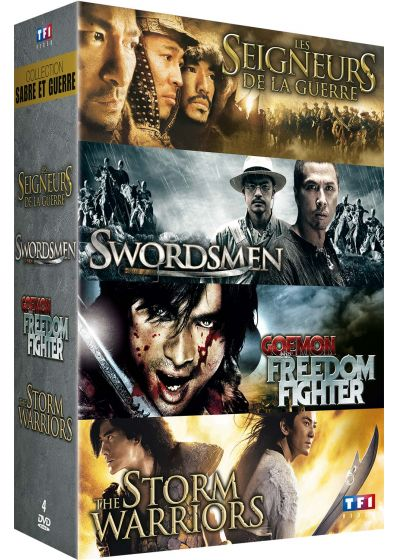 Collection Sabre et guerre : Les seigneurs de la guerre + Swordsmen + Goemon the Freedom Fighter + The Storm Warriors (Pack) - DVD