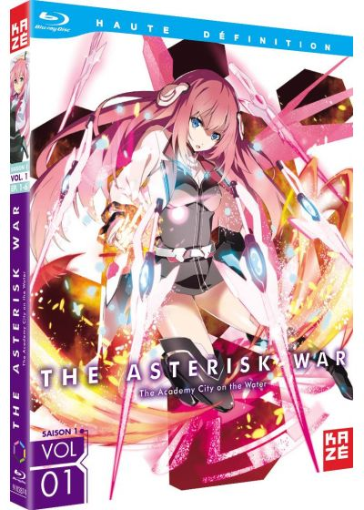 The Asterisk War : The Academy City on the Water - Saison 1, Vol. 1/2 - Blu-ray