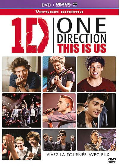 1D, One Direction - This Is Us (DVD + Copie digitale) - DVD