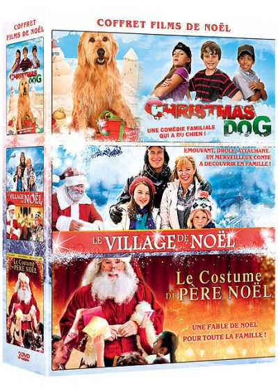 Coffret Films de Noël : Christmas Dog + Le Village de Noël + Le Costume du Père Noël (Pack) - DVD