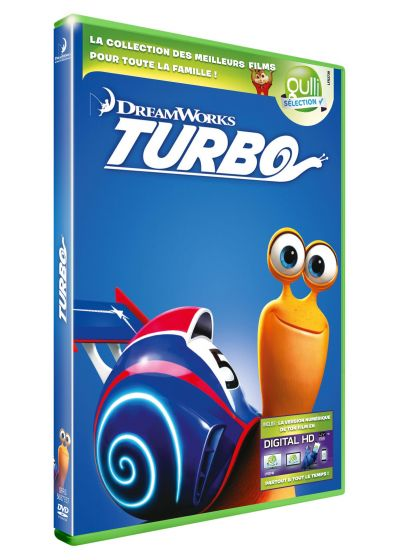 Turbo (DVD + Digital HD) - DVD