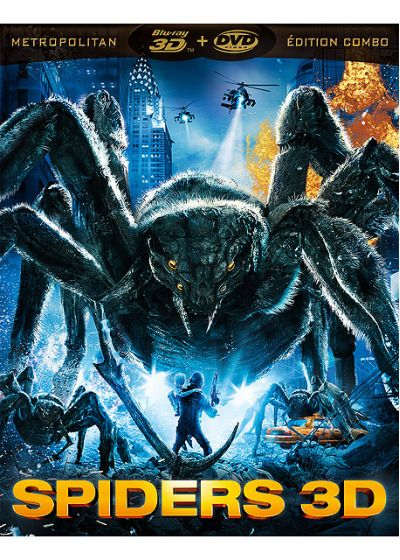 Spiders (Combo Blu-ray 3D + DVD) - Blu-ray 3D