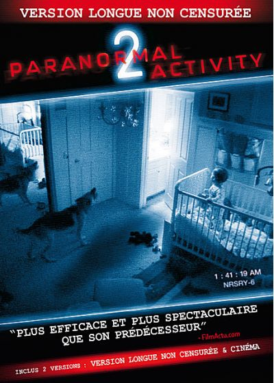Paranormal Activity 2 (Version longue non censurée) - DVD