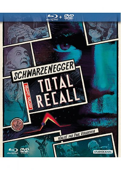 Total Recall (Édition Comic Book - Blu-ray + DVD) - Blu-ray