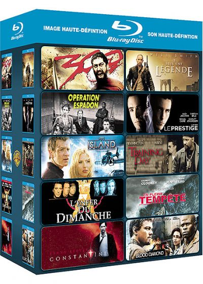 Coffret action - 10 films (Pack) - Blu-ray
